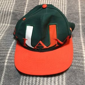 Accessories - University of Miami Hat ~ never worn